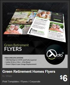 Green Retirement Homes Flyers