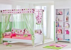 This was my dream canopy bed when I was a kid.