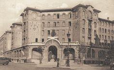 Le Palais de la Femme de l'Armée du Salut au n° 84 de la rue de Charonne, vers 1920.