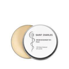 Saint Charles Cream Deodorant N°2 Floral 100% Natural Deodorant with Lavender