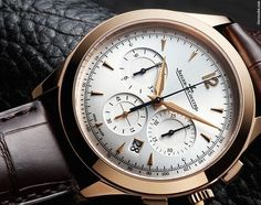 Jaeger-LeCoultre [NEW] Master Chronographe Silver Q1532520 (Retail:EUR 22.600) ~ JULY SPECIAL: HK$138,000.