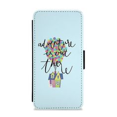 Our Adventure Is Out There - Disney Flip / Wallet Phone Case is available online now for just £9.99.    Fan of UP? You'll love our Adventure Is Out There - Disney wallet phone case, available for iPhone & Samsung models.    Weight: 28g, Material: Polyester & Plastic, Production Method: Printed, Thickness: 15mm, Colour Sides: Clear, Compatible With: iPhone 4/4s | iPhone 5/5s/SE | iPhone 5c | iPhone 6/6s | iPhone 7 | iPhone 7+ | iPhone 8 | iPhone 8+ | Galaxy S4 | Galaxy S5 | Galaxy S6 | Galaxy…