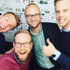 Idag har vi haft finbesök av Markus - regionchef för @ufskaraborg  #FrindsofMT #worktogetherisbiggerthansolo #ungforetagsamhet