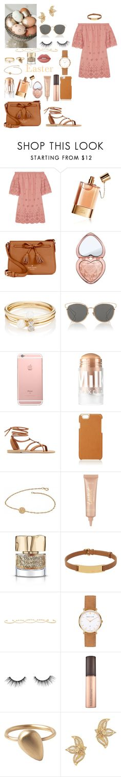 """""""Happy Belated Easter"""" by mylano ❤ liked on Polyvore featuring Madewell, Chloé, Kate Spade, Too Faced Cosmetics, Loren Stewart, Christian Dior, MILK MAKEUP, Valia Gabriel, Barneys New York and Alison & Ivy"""