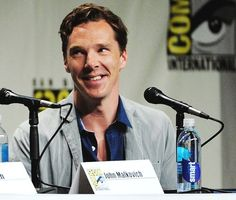 Benedict at the panel