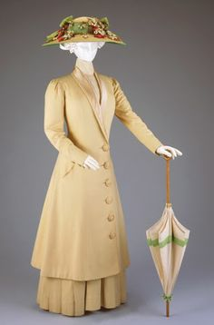 Mary Poppins, anyone? This is an adorable dress suit from 1910.