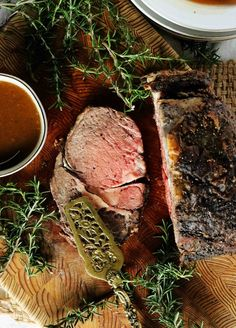 Learn how to make prime rib exactly to your liking! With tips on how to buy prime rib, prime rib seasoning, how to cook it in the traditional method and more! This is everything you need to know for a perfect prime rib roast every time! Boneless Prime Rib Recipe, Rib Roast Recipe, Rib Recipes, Roast Recipes, Cooking Recipes, Game Recipes, Dinner Recipes, Holiday Recipes, Dinner Ideas