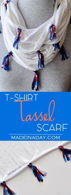 DIY T-Shirt Tassel S