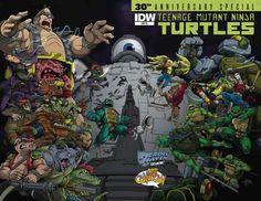 TMNT-30th-Anniv-Special_Cover-RE-Heroes-Haven Ozzy Fernandez & Tony Kordos