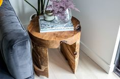 We've taken the root of upcycled teak trees and turned them into our rustic and stately live edge Bundar Accent Tables. Solid, sturdy and enduring, they're perfect in pairs, and feel most at home when showcased in a room. #indonesianteak #solidwood #teakfurniture #woodtable #uniquefurniture