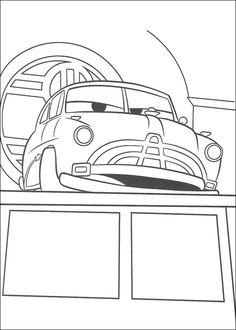 Desenhos para colorir Carros 36