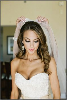 Wedding Hairstyles Down Cool ❤ Bridal Hair Down With Veil  Hair  Pinterest  Bridal Hair Veil