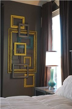 20 Best Diy Wall Art Ideas Layer Some Colorful Frames
