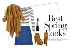 """""""Spring look"""" by ilsecamps ❤ liked on Polyvore featuring H&M, Miss Selfridge, River Island, Chicnova Fashion, MAC Cosmetics, women's clothing, women, female, woman and misses"""