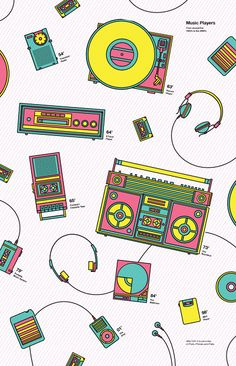 Music Players in Pattern