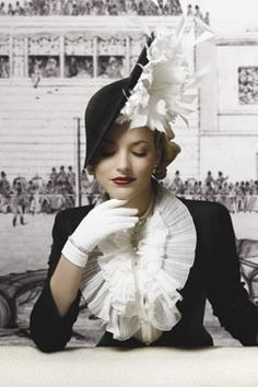why don't we dress like this anymore? I would so wear this hat!