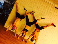 Triple Handstand