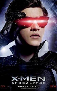 X Men Apocalypse Cyclops Poster X Men: Apocalypse Posters Highlight the Films Heroes & Villains
