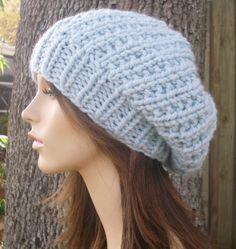 b0db257051278 Knitting Pattern - Knit Hat Knitting Pattern - Knit Hat Pattern for The Soho  Beret -