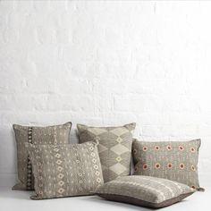 Hand-Block Printed Cushions by Louisa Loakes   The New Craftsmen   Luxury Handmade Craft