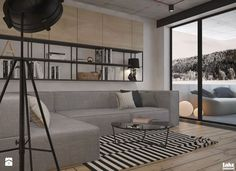 Mieszkanie heksagon od take design Interior Inspiration, Interior Decorating, Couch, Throw Pillows, The Originals, Furniture, Design, Home Decor, Decoration
