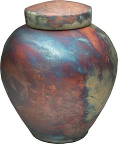Ethereal Raku Urn - Memorial Urns Memorial Urns, Turned Wood, Cremation Urns, Detailed Image, Wood Turning, Shades Of Blue, Ethereal, Color Show, Contemporary Design