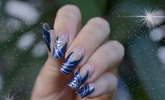 Christmas nail art | Funpki: French Christmas Nail Art Fashion Trends Collection 2013 ...