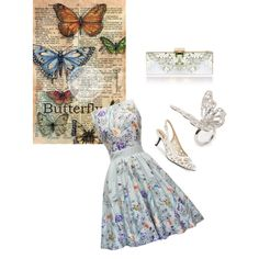 """""""Butterfly fly away"""" by amale13 on Polyvore"""
