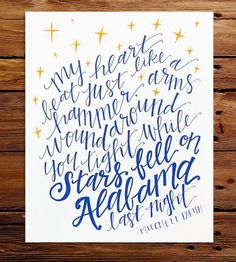 Stars Fell On Alabama Art Print by Stately Made on Scoutmob Shoppe