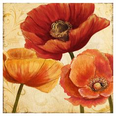 A perfect addition to your gallery wall or master suite, this canvas giclee print showcases a beautiful blooming floral motif.  Prod...