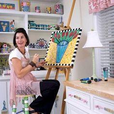 Beautiful and inspiring home art studio ideas