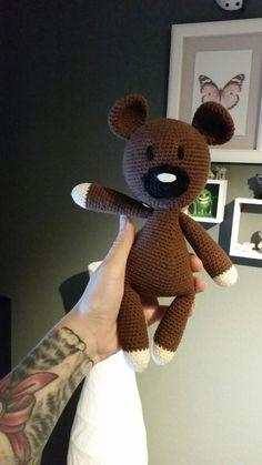 Mr. Bean Teddy ♡ #crochet #häkeln #amigurumi pattern by bluerabbit