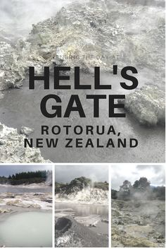 Spending the day at Hell's Gate geothermal reserve and Spa in Rotorua, New Zealand