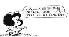 Las 20 mejores viñetas políticas de Mafalda.