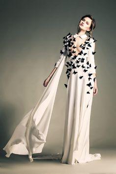 Jean Louis Sabaji haute couture robe Sculpture