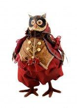 Elegant Owl George - $112 http://www.greenmantlegifts.com.au/shop/products/Elegant-Christmas-Owl%2C-George-%252d-Greenmantle-Special.html