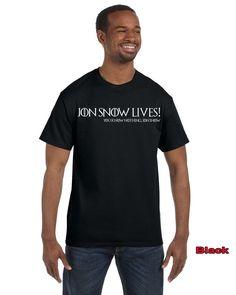 Jon Snow Lives! You Know Nothing Jon Snow Men's T-Shirt Hodor Game Of Thrones