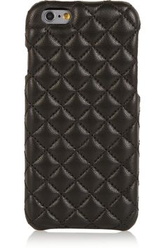 The Case Factory – Quilted leather iPhone 6 case