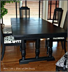 25 Best Painted Dining Table And Chairs Images Table Chairs