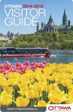 The Ottawa Visitor Guide includes many suggestions of what to do, where to shop and eat and places to stay. Learn about upcoming exhibits, hot spots in the city and ways to cool down in the (Cool Places In Canada) Ottawa Canada, O Canada, Canada Trip, Ottawa Tulip Festival, Ottawa Tourism, Canadian Travel, Staycation, Vacation Trips, Places To See