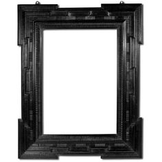 Linda Horn - BLACK WOOD FRAME - 1stdibs ❤ liked on Polyvore featuring frames, backgrounds, fillers, borders, black, picture frame, text, phrase, quotes and saying