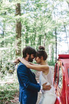 Le mariage d'Audrey et Maxime - Domaine de la Vieille Borde | Photographe : Céline Marks | Donne-moi ta main - Blog mariage