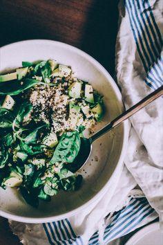 Insalata di miglio e avocado - Millet and Avocado Salad 2