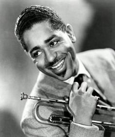 "John Birks ""Dizzy"" Gillespie was an American jazz trumpeter, bandleader, composer and occasional singer. Allmusic's Scott Yanow wrote, ""Dizzy Gillespie's contributions to jazz were huge. Dizzy Gillespie, Miles Davis, Jazz Musicians, Jazz Blues, Grave Memorials, Famous Faces, Famous Men, Music Artists, Good Music"