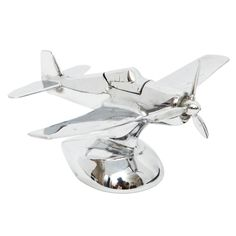 1stdibs | Chrome Airplane Lighter
