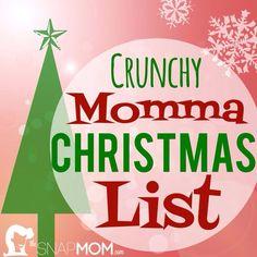 Crunchy Momma Christmas List | The Snap MomThe Snap Mom
