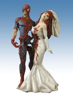 Undead Spiderman with M.J