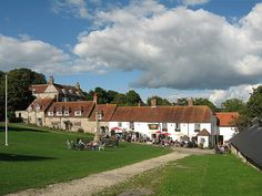 The Tiger Inn on the village green at East Dean, Sussex.