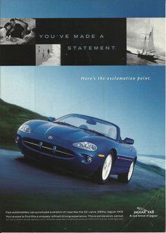 1998 Jaguar XK8 Ad