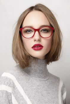 Red glasses